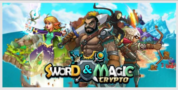 노드게임즈가 출시한 EOS 기반 RPG 게임 크립토 소드매직 이미지