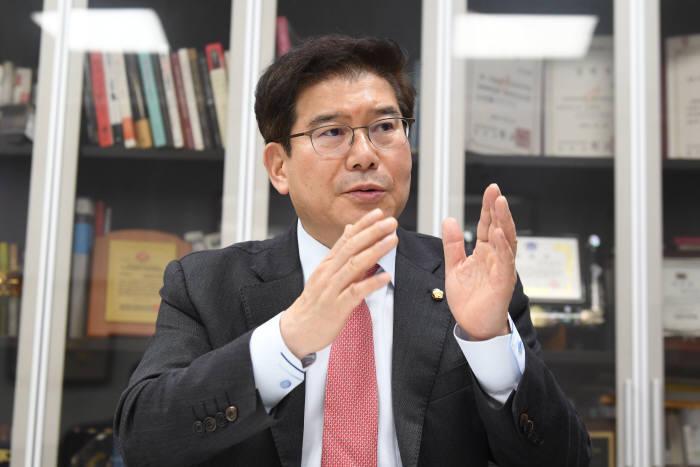 김성태 자유한국당 의원, 사진=김동욱기자 gphoto@etnews.com