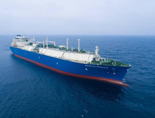 대우조선해양 LNG운반선. [사진= 대우조선 제공]