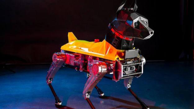 플로리다 애틀란틱 대학교가 개발한 로봇 강아지 아스트로. <사진=플로리다 애틀란틱 대학교>