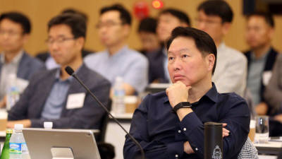 {htmlspecialchars(SK그룹, 내년1월 'SK유니버시티' 출범'···딥체인지 역량강화 위한 교육·연구플랫폼)}