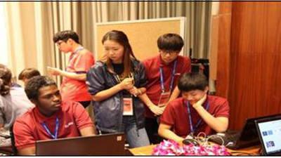 국내·해외 고교생 팀 이뤄 교육용 앱 개발...e-ICON 대회 개최