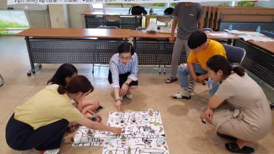 조선대 SW융합교육원, 나주 금성원서 '로봇과 함께 배우는 코딩교실' 진행
