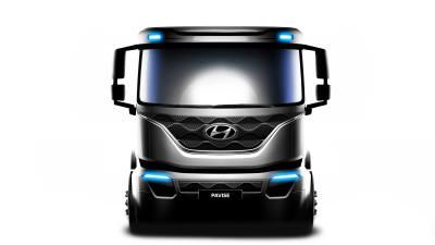 현대차, 내달 출시 앞둔 준대형트럭 '파비스' 렌더링 이미지 공개