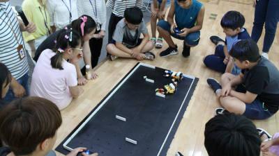 한국로봇산업진흥원, 로봇 활용한 재능기부 활동