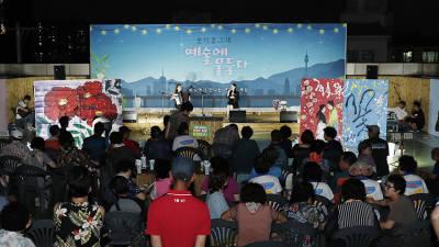 영남대 산학협력단, 전통시장을 문화공간으로 탈바꿈