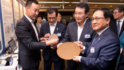 유영민 장관, 강소연구개발특구 비전선포식 참석