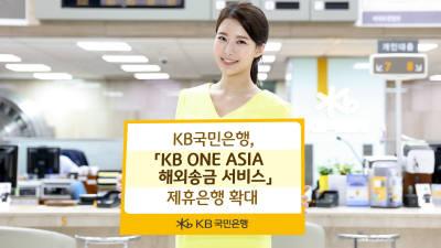 {htmlspecialchars(국민은행, 해외송금 서비스 제휴은행 확대)}
