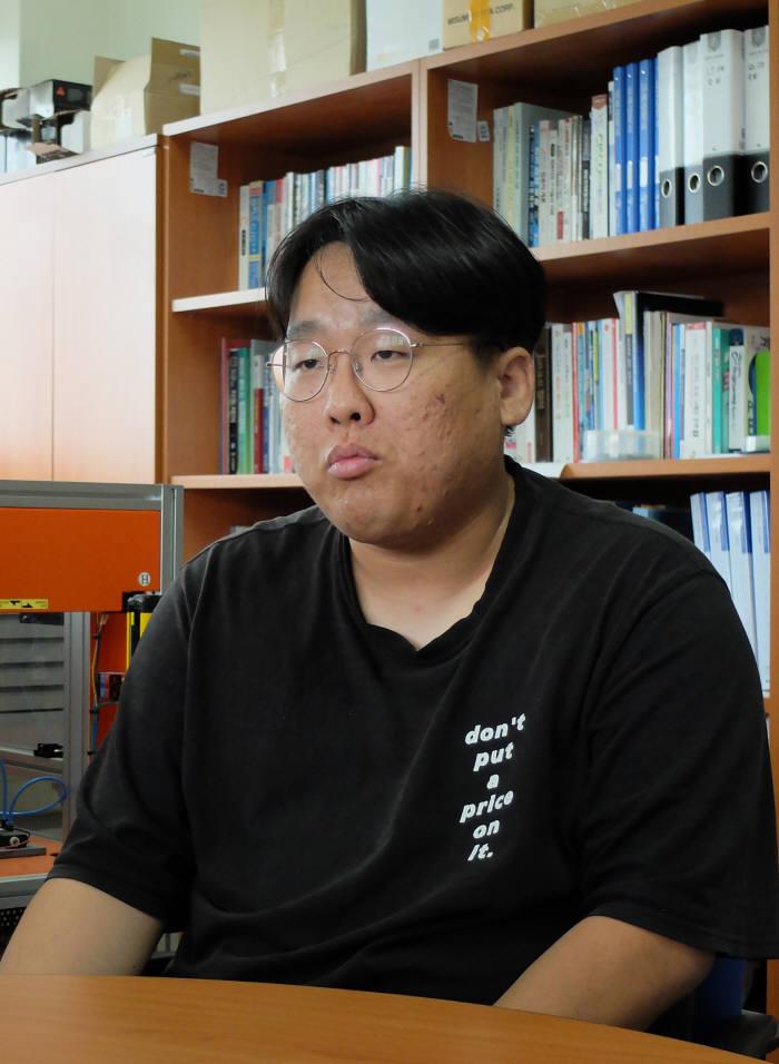 하종빈 한국폴리텍대학 창원캠퍼스 스마트팩토리과 교육생.