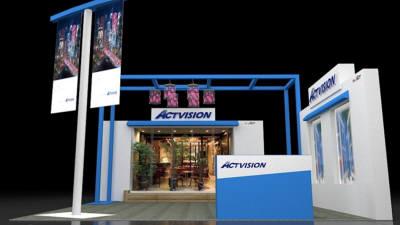 액트, 투명 필름 LED디스플레이 'ACTVISION' 국제광융합비즈니스페어에 출품
