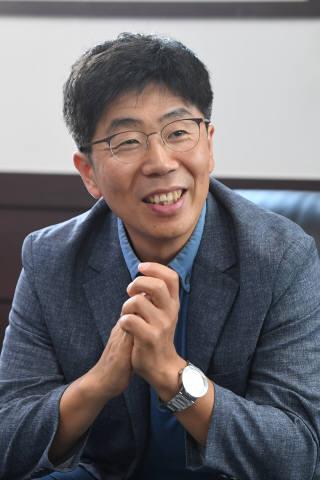 이승한 코원티엔에스 대표.