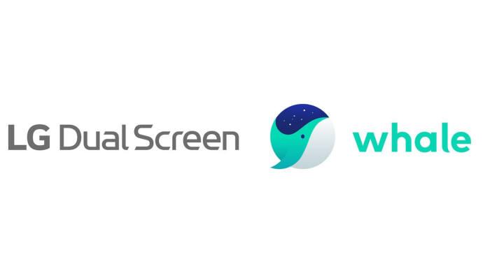 네이버 웨일, 'LG 듀얼 스크린' 신제품에 기본 탑재된다