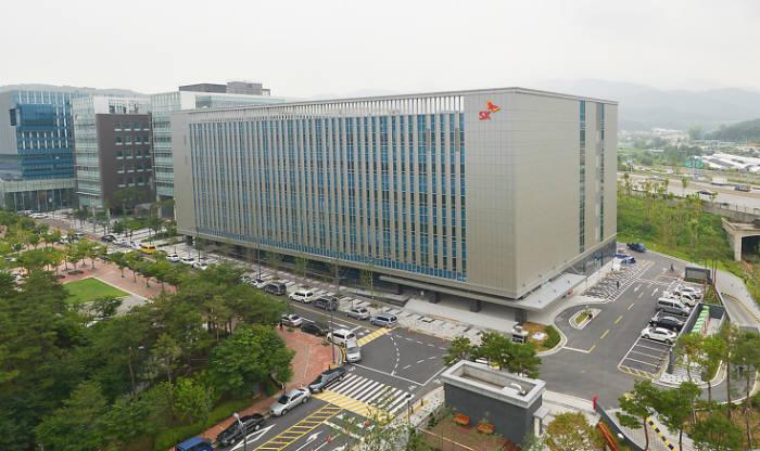 SK(주)C&C 판교클라우드센터 전경