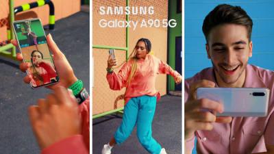 5G 첫 보급형 시장 노크...삼성전자, 4일 갤럭시A90 출시