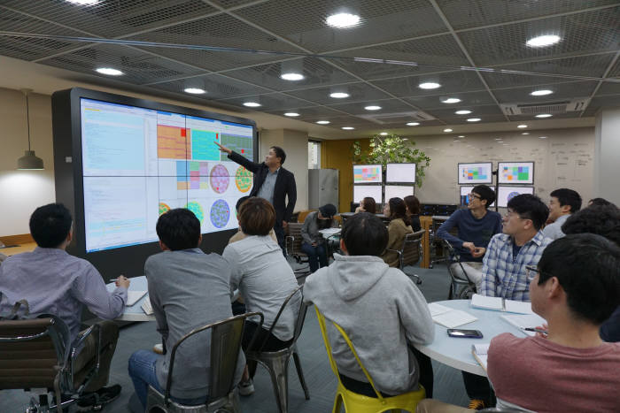 폴리텍대학 융합기술교육원 데이터융합SW과 수업 모습. [자료:한국폴리텍대학]