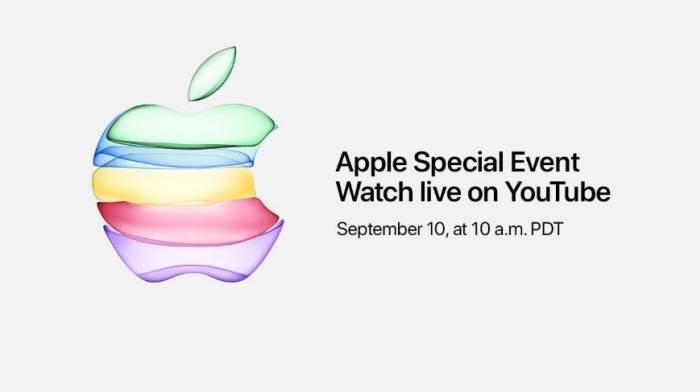 애플은 이번 신제품 공개 행사를 처음으로 유튜브에서도 생중계한다.
