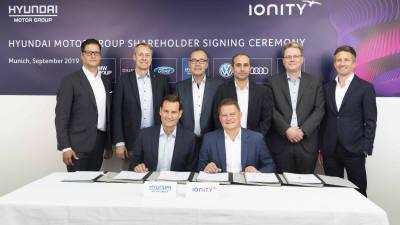 현대·기아차, 유럽 최대 EV 초고속 충전업체 '아이오니티'에 전략 투자