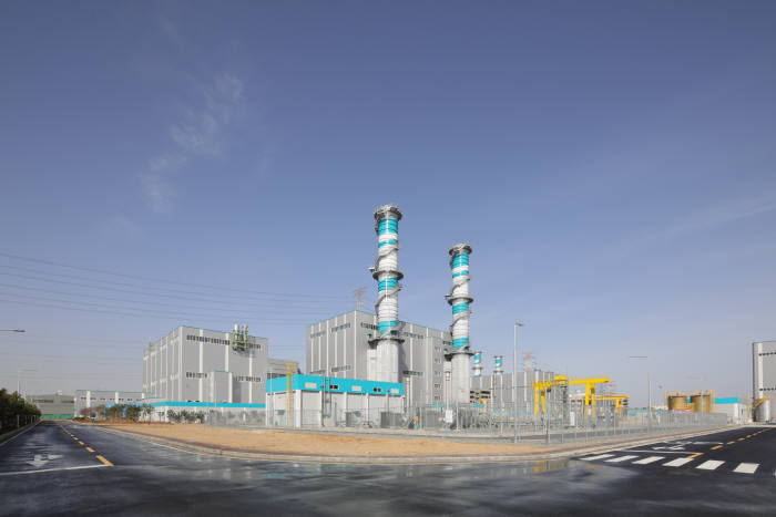 GS EPS가 운영하는 당진 LNG복합발전소 4호기.