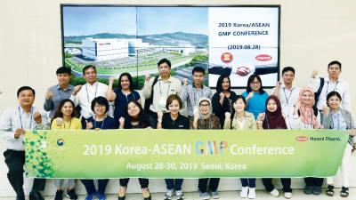 아세안 9개국 GMP 조사관, 한미약품 팔탄 스마트플랜트 방문