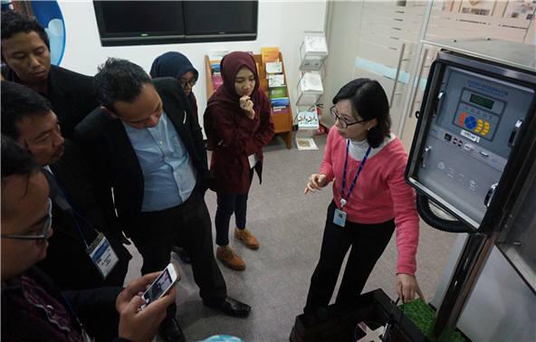 한국수자원공사가 지난 2016년 인도네시아 공무원 초청 교육을 실시하는 모습. [자료:한국수자원공사]