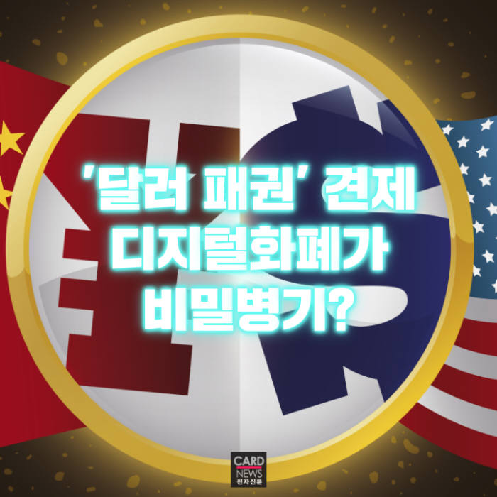 [카드뉴스]중국이 디지털화폐 발행 서두르는 이유
