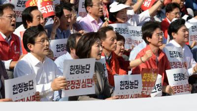 자유한국당 추석 민심 보고대회