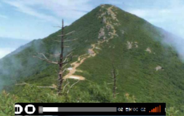 국립공원관리공단에서 배포한 설악산국립공원 VR영상.