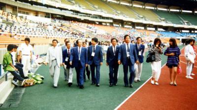 [추억의 ICT산업 사진전]1988년 스타디움 순시