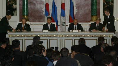 [추억의 ICT산업 사진전]2004년 한·러 우주기술협력협정 체결