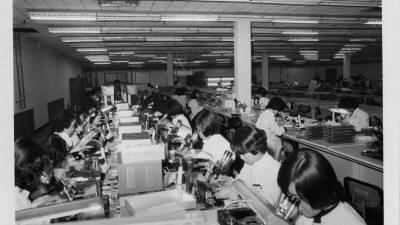 [추억의 ICT산업 사진전]1974년 삼성반도체 부천사업장 모습