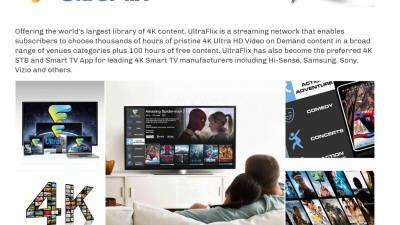 美 OTT 울트라플릭스 8K 연합 합류...'콘텐츠 생태계 확대'