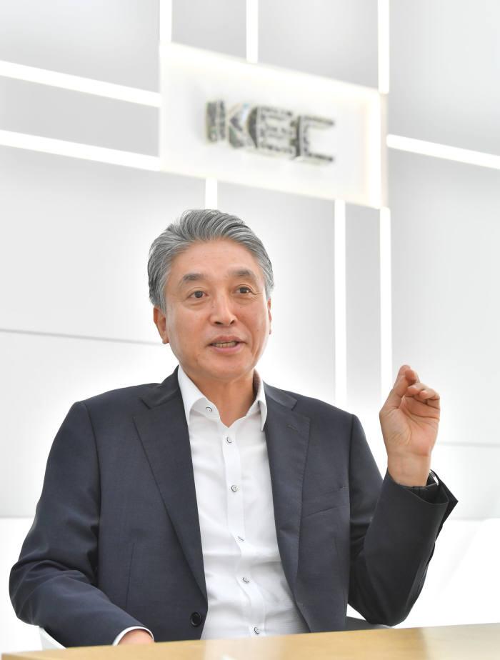 황창섭 KEC 대표.