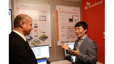 SK브로드밴드, 5G 기술 융합 가상화 보안단말 기술 공개