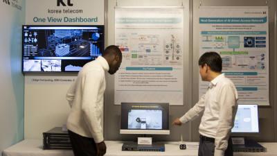 KT, AI기반 차세대 네트워크 기술 선보인다