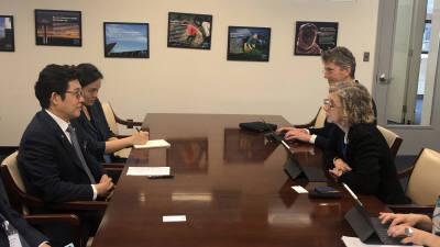 조명래 환경부 장관, 잉거 앤더스 UNEP 사무총장과 양자회담