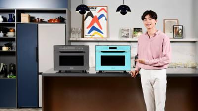 삼성전자, '비스포크' 냉장고 색깔 적용한 직화오븐 신제품 출시