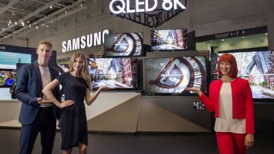 삼성 'QLED' 명칭, 해외선 문제없다 결론