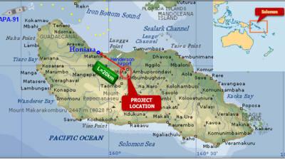 수자원공사, 솔로몬제도 티나 강 수력발전사업 건설 '계약'