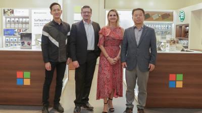 마이크로소프트, 국내 첫 프리미엄 매장 청량리에 오픈