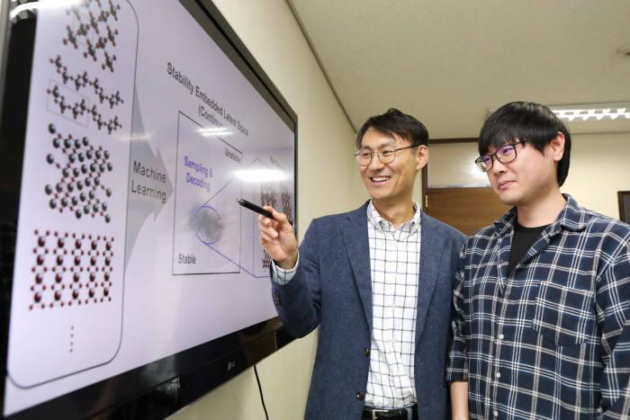 연구에 참여한 정유성 교수(사진 왼쪽)와 노주환 박사과정(오른쪽)