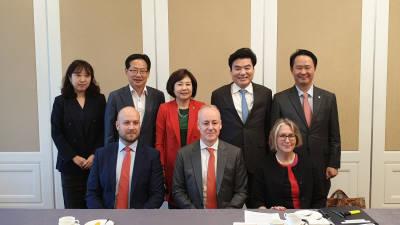 원유철, 세계식량계획(WFP) 대표단과 공동간담회 개최