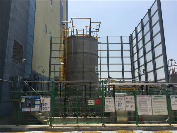 이엠코의 질소산화물 제거 설비. [자료:환경부]