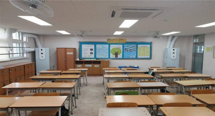 케이웨더가 AI 존을 설치한 한국외식과학고등학교. [자료:케이웨더]