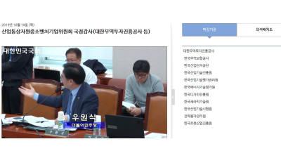 [2019 국정감사]산업부 산하기관 '부실 사업관리' 도마