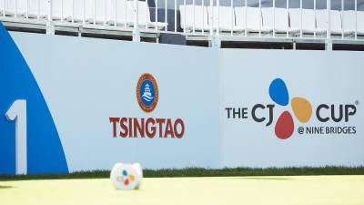 칭따오, PGA 정규 투어 '더 CJ컵' 3년 연속 공식 후원