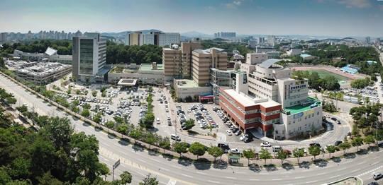 충북대병원 전경