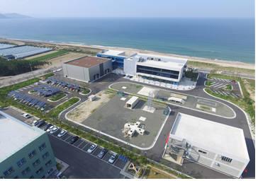 한국로봇융합연구원 안전로봇실증센터 전경