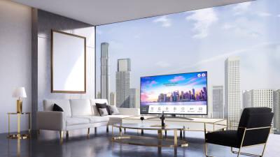 LG전자, 호텔용 '나노셀 4K TV' 출시…프리미엄 B2B 시장 공략