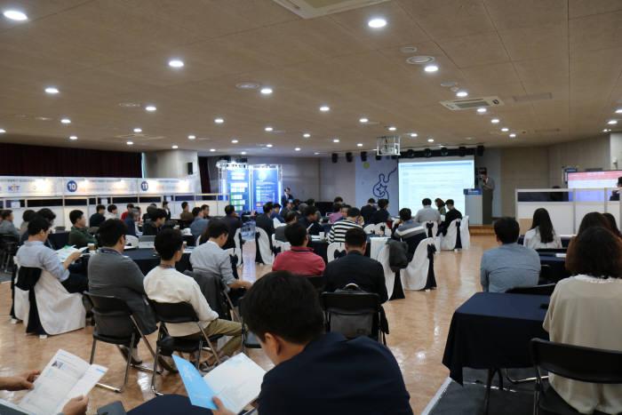 전북연구개발특구본부는 17일 전북지역 공공연구기관 사업화 유망기술을 수요기업에게 소개하는 2019년 전북연구개발특구 테크비즈파트너링 행사를 개최했다.