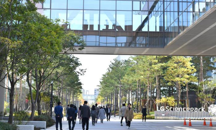 서울 마곡 LG사이언스파크 전경.